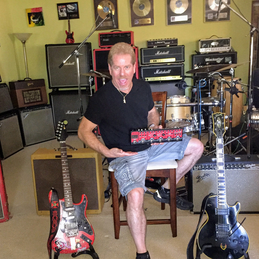 Brad Gillis, Mooer Artist and Endorser