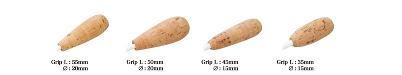 Pickboy Oval Cork Grip Conducting Batons