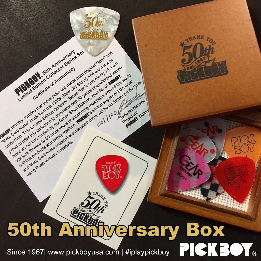 Pickboy 50th Anniversary Box Set