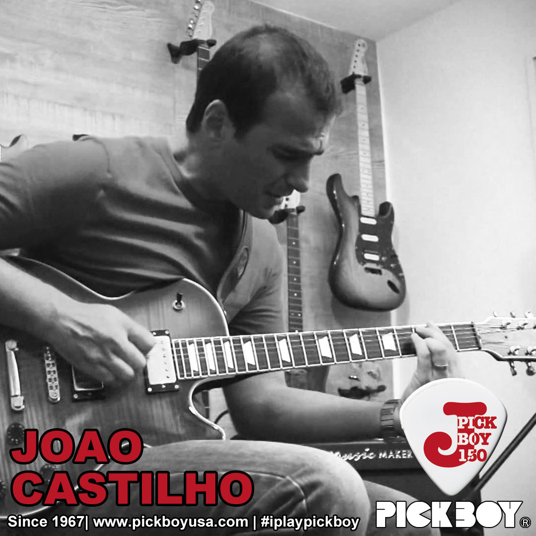Joao Castilho, Pickboy and Mooer endorser