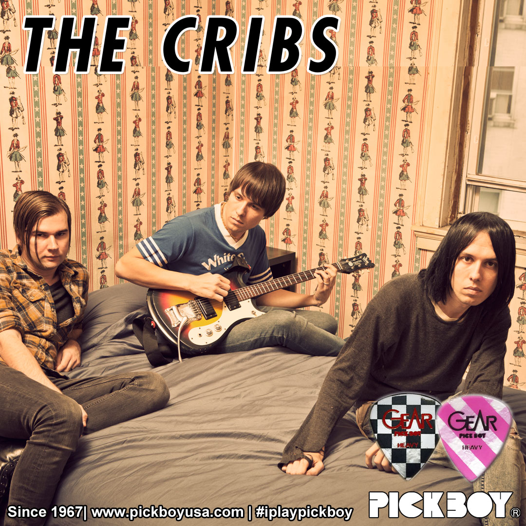 The Cribs Pickboy/Osiamo endorsee